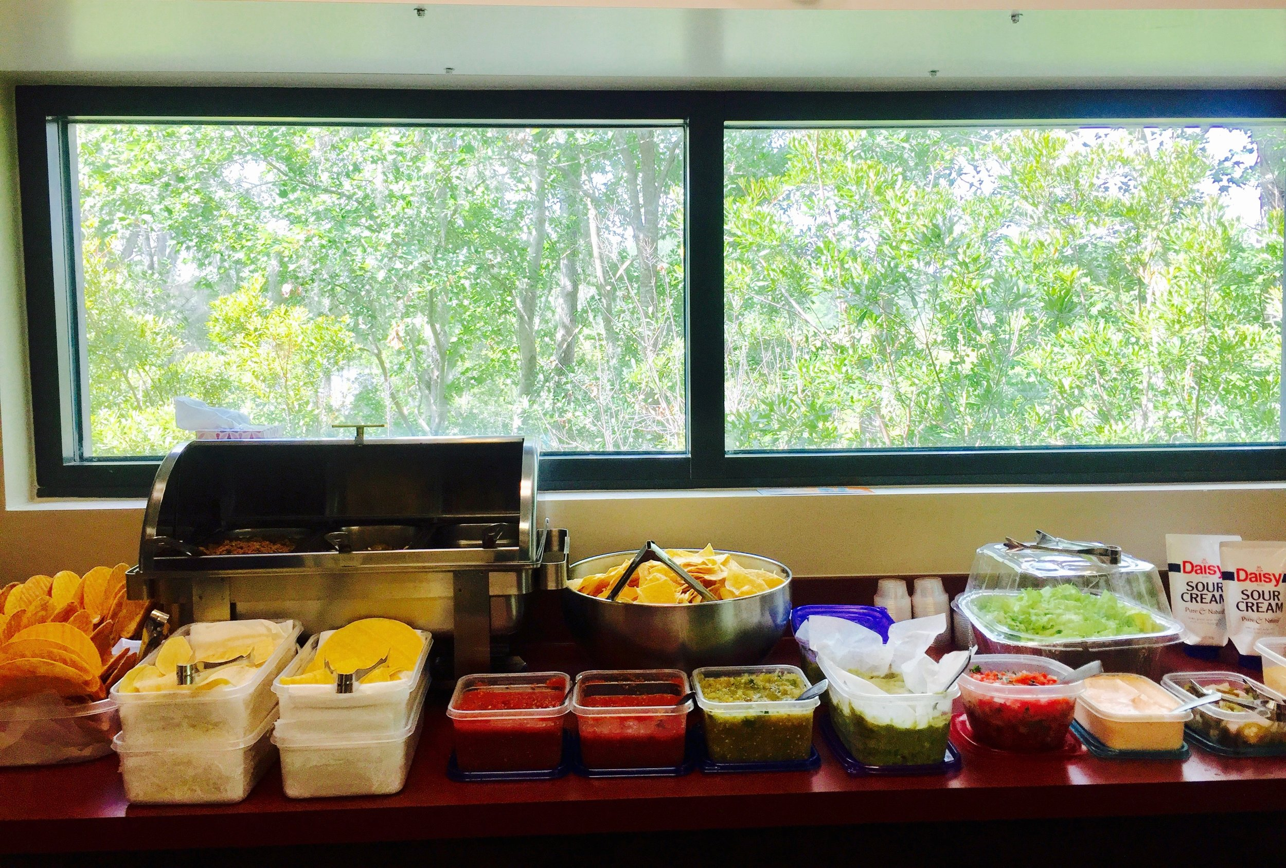 Taco Buffet for your office or gathering event