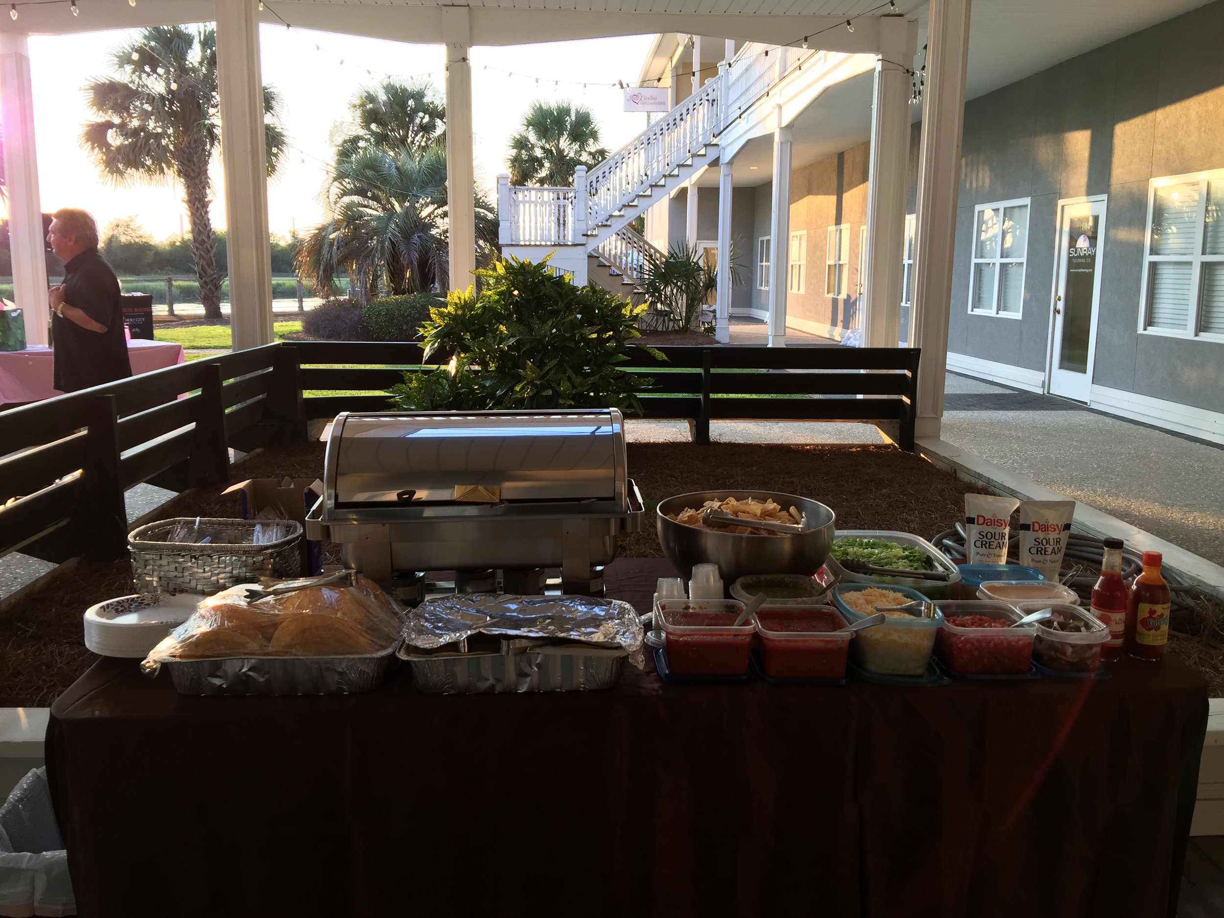 Private event catering for a birthday party