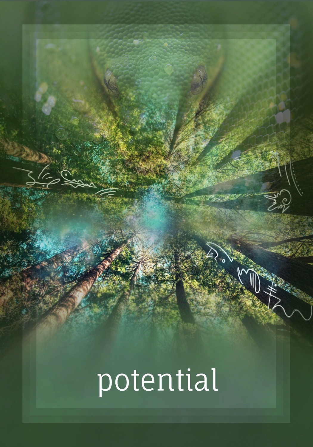 """""""With potential comes the choice to act, or to transmute."""" -"""