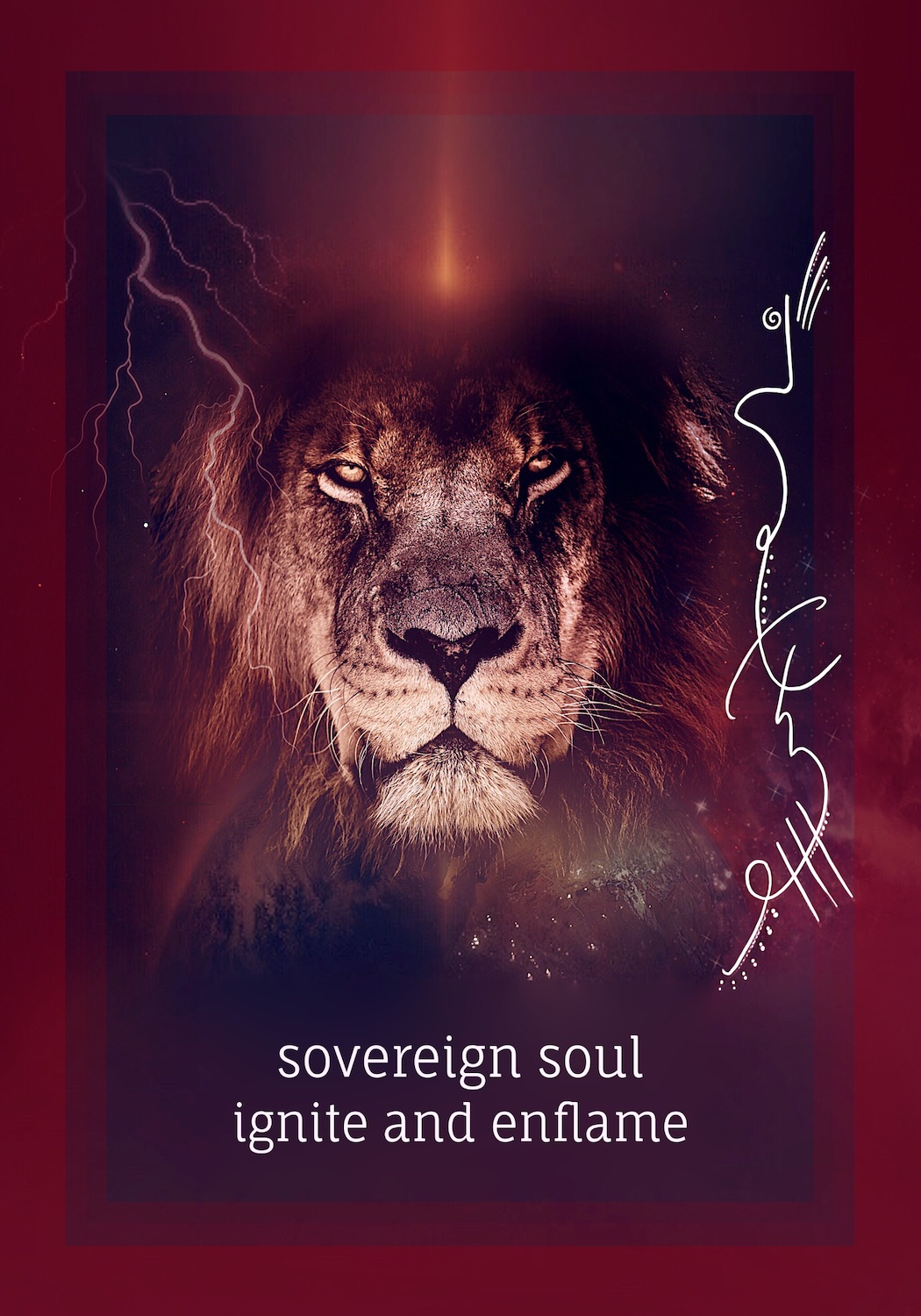 """""""Sovereignty is to hold the flame of your life force in reverence"""" -"""