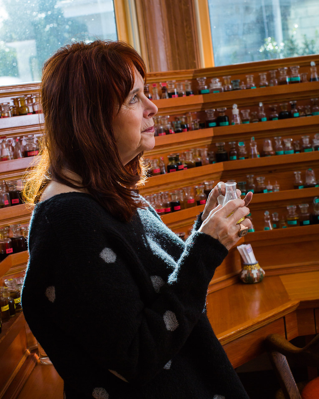 mandy at the organ_aftelierperfumes