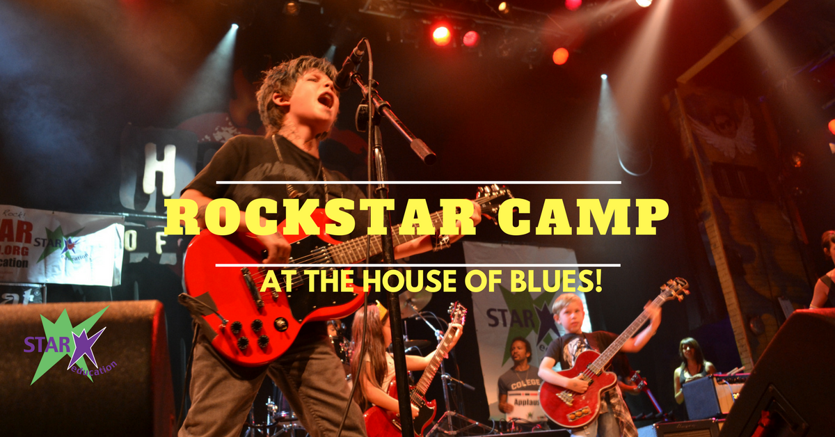 Rockstar Camp at the House of Blues