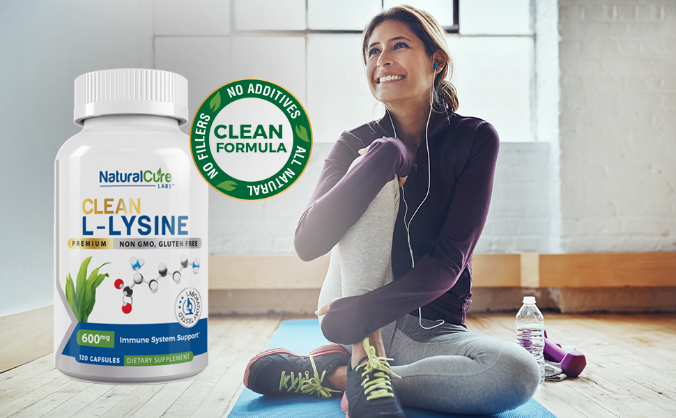 Clean L-Lysine from Natural Cure Labs
