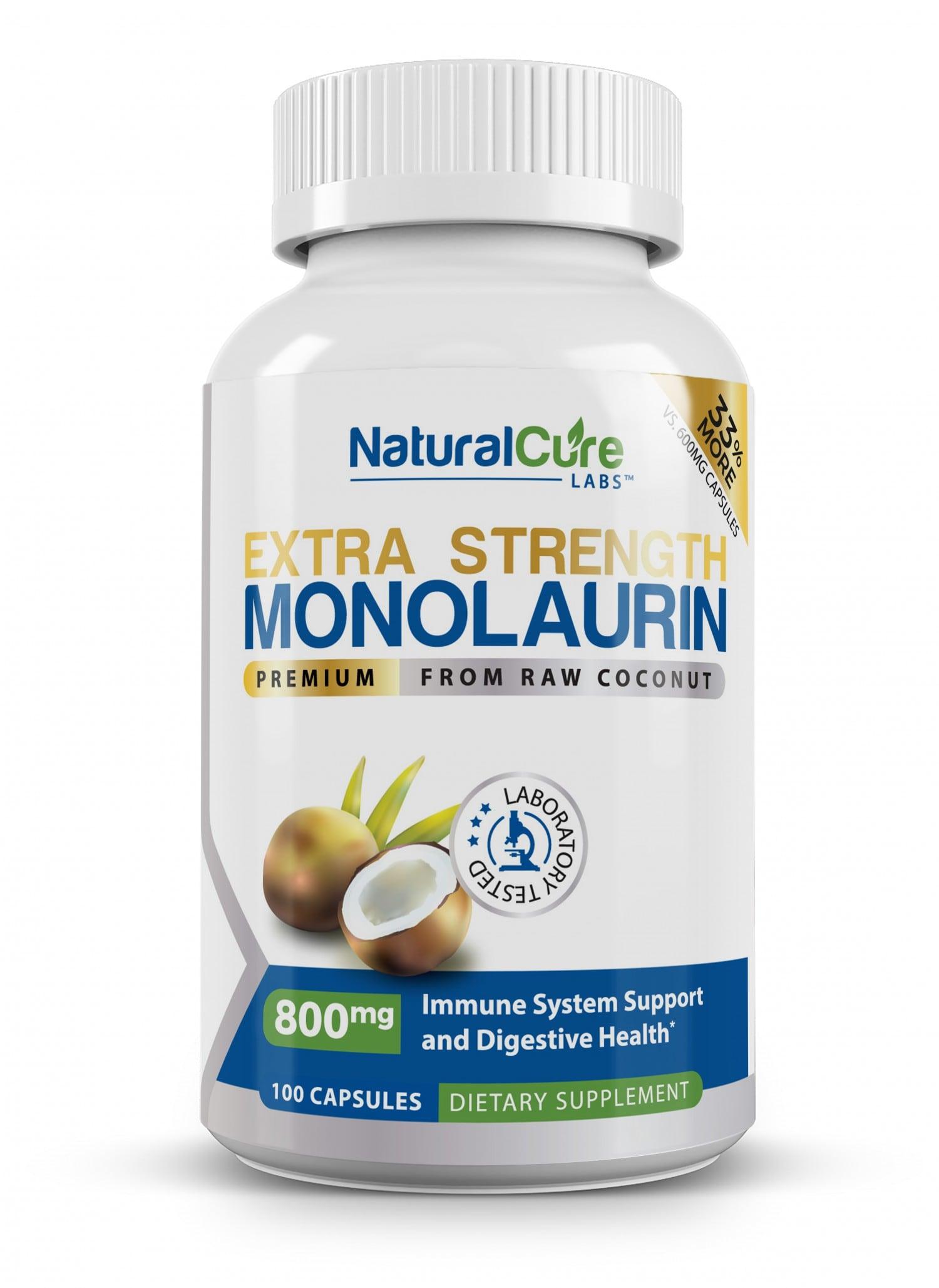 Monolaurin Extra Strength 800mg
