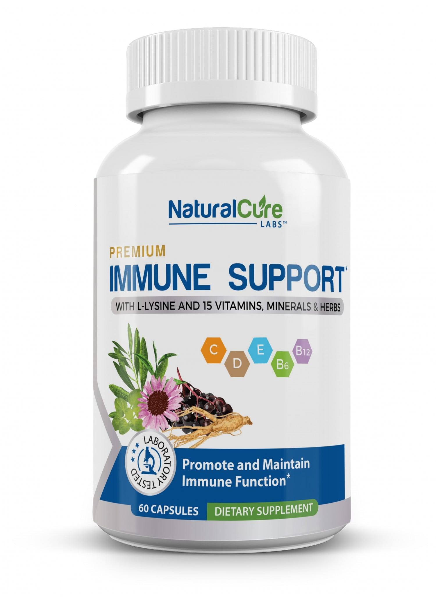 The new Immune Support blend has odorless garlic and a 100% natural formula.