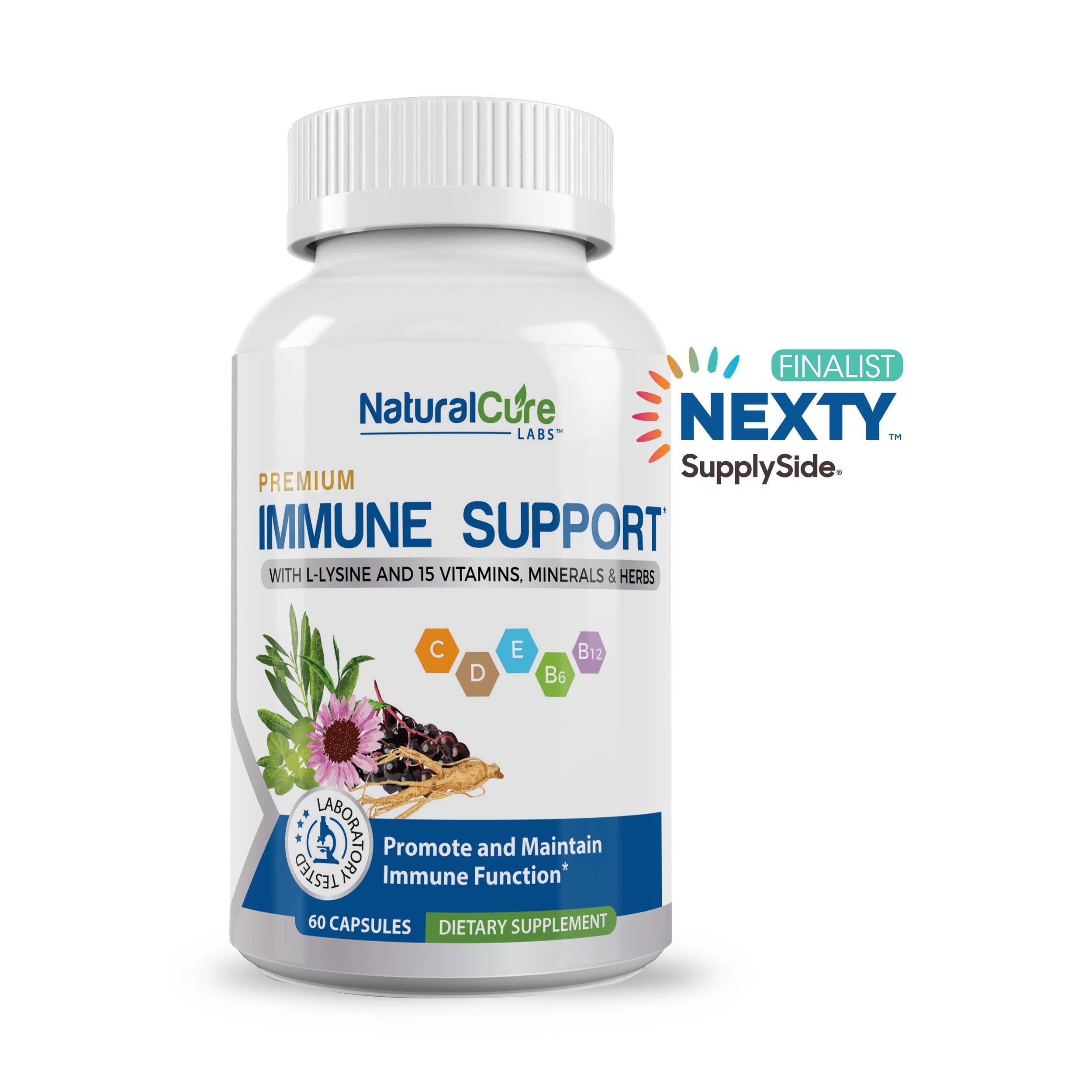"""Immune Support was voted """"Best Multivitamin"""" finalist in the 2019 NEXTY Awards"""
