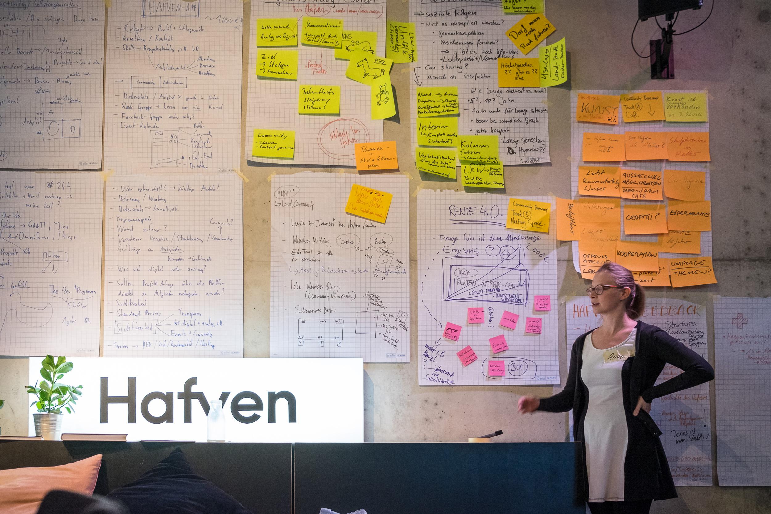 Anna präsentiert die Rente 4.0 — Die Lösung ist ein ein Renten-Repair Cafe
