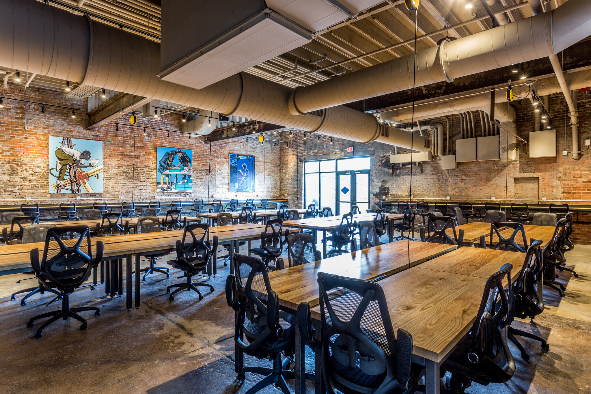 Despite the pandemic, a new coworking space has opened in downtown Raleigh.C/O Transfer Co.