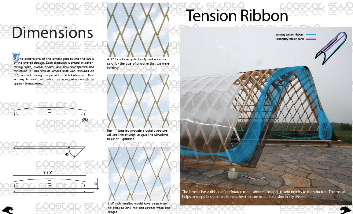 Dimension & Tension Ribbon