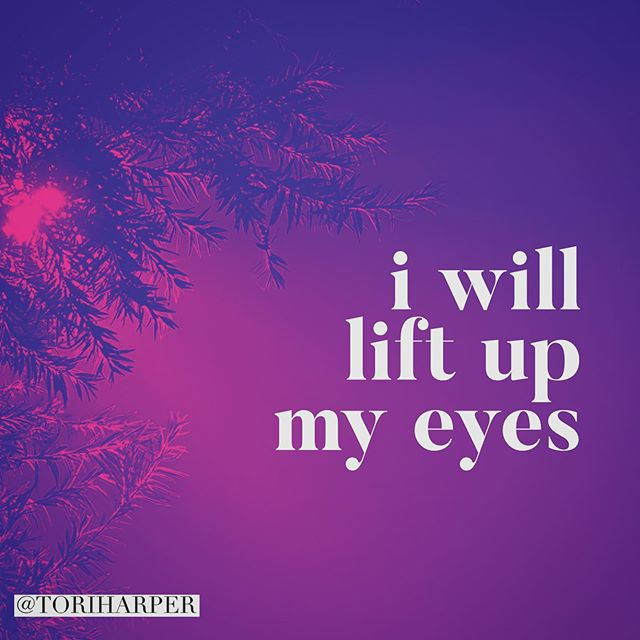 """""""I will lift up my eyes to the hills [of Jerusalem]-- From where shall my help come? My help comes from the LORD, Who made heaven and earth."""" PSALMS 121:1-2 AMP"""