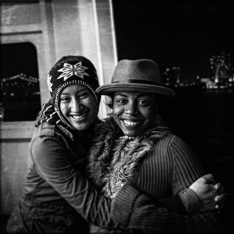 Fari and Megan, Mississippi River New Orleans, 2015.jpg