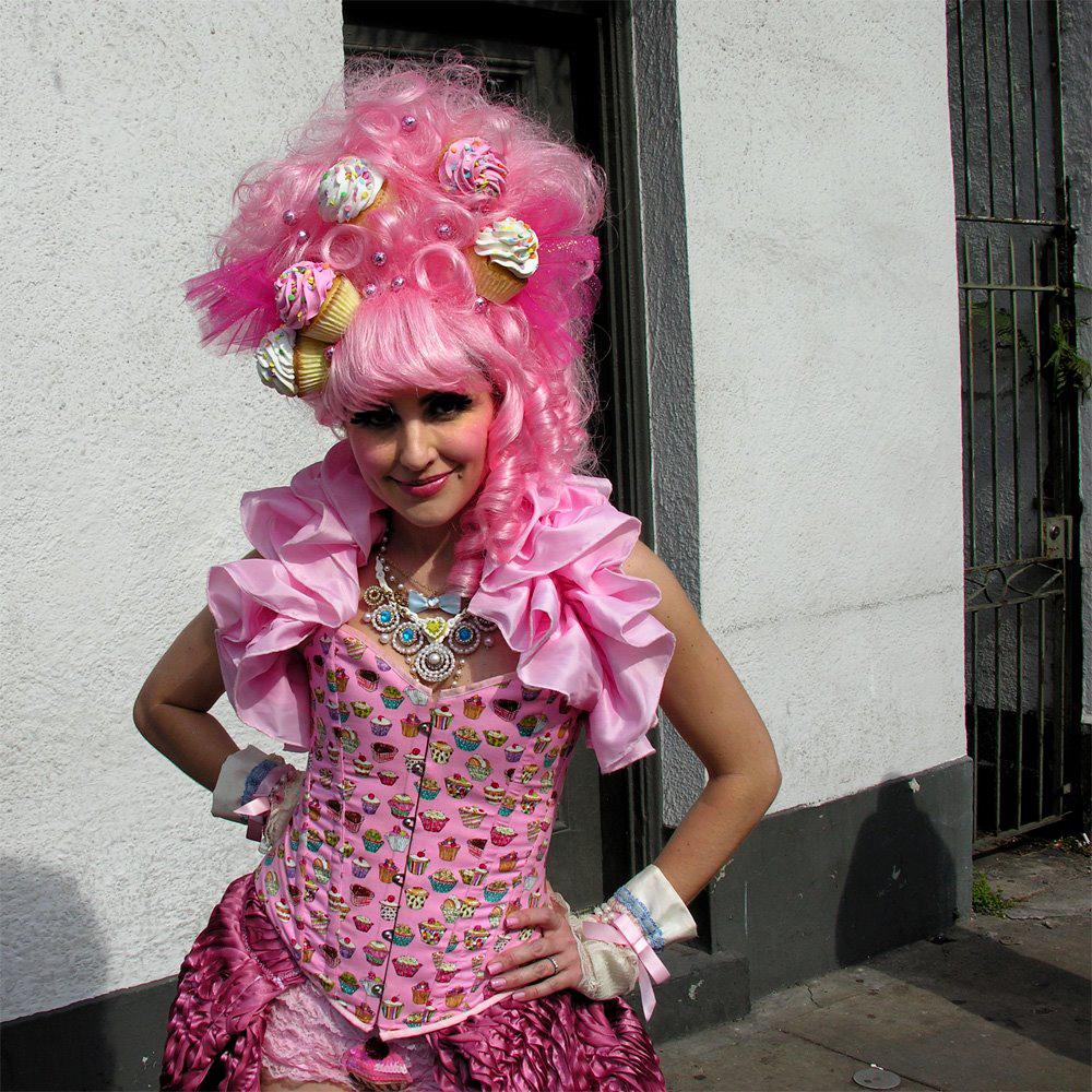 Cupcake Queen Mardi Gras 2012 | Dumaine between Royal and Bourbon.jpeg
