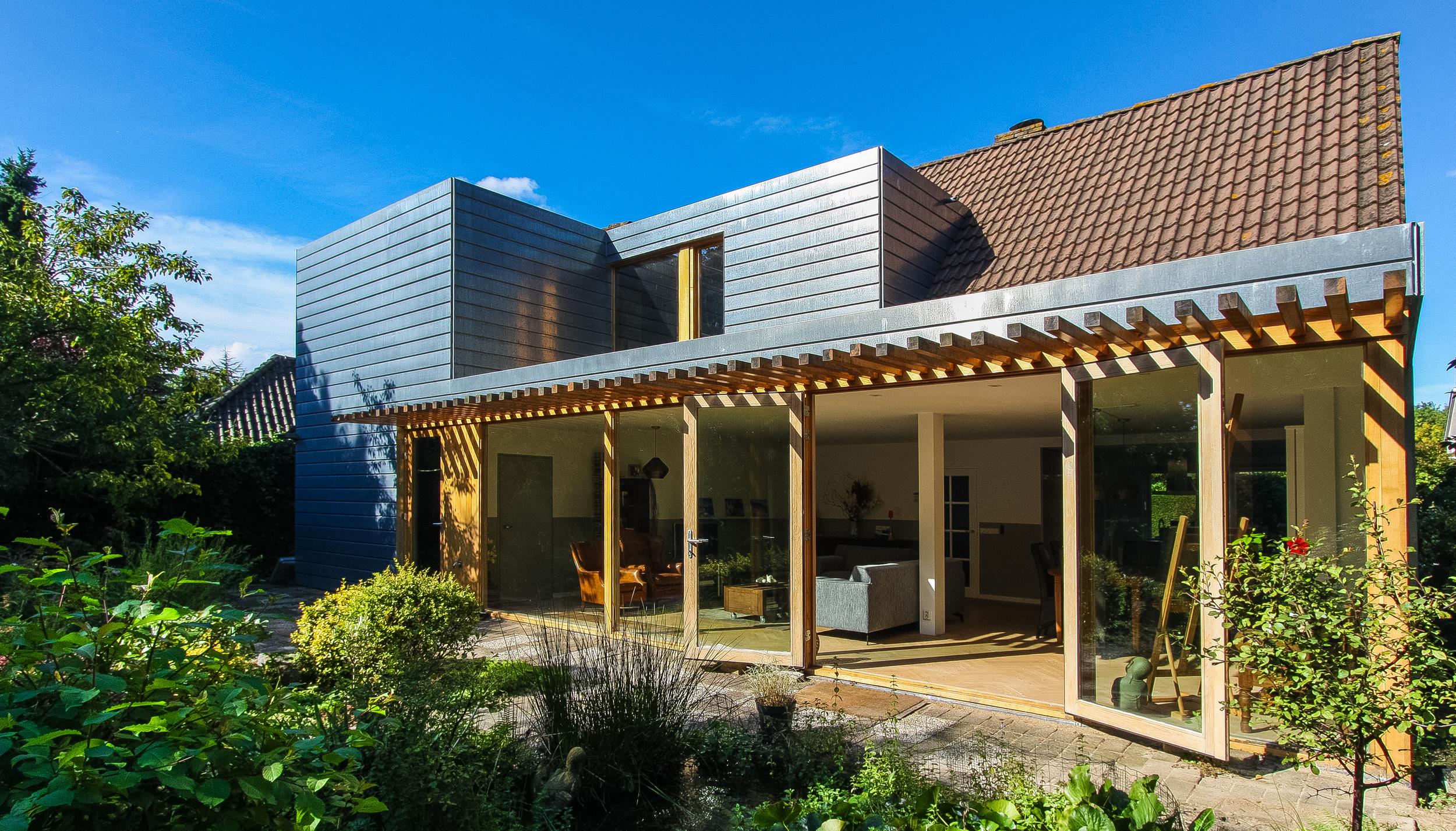 Uitbouw woonhuis Almere
