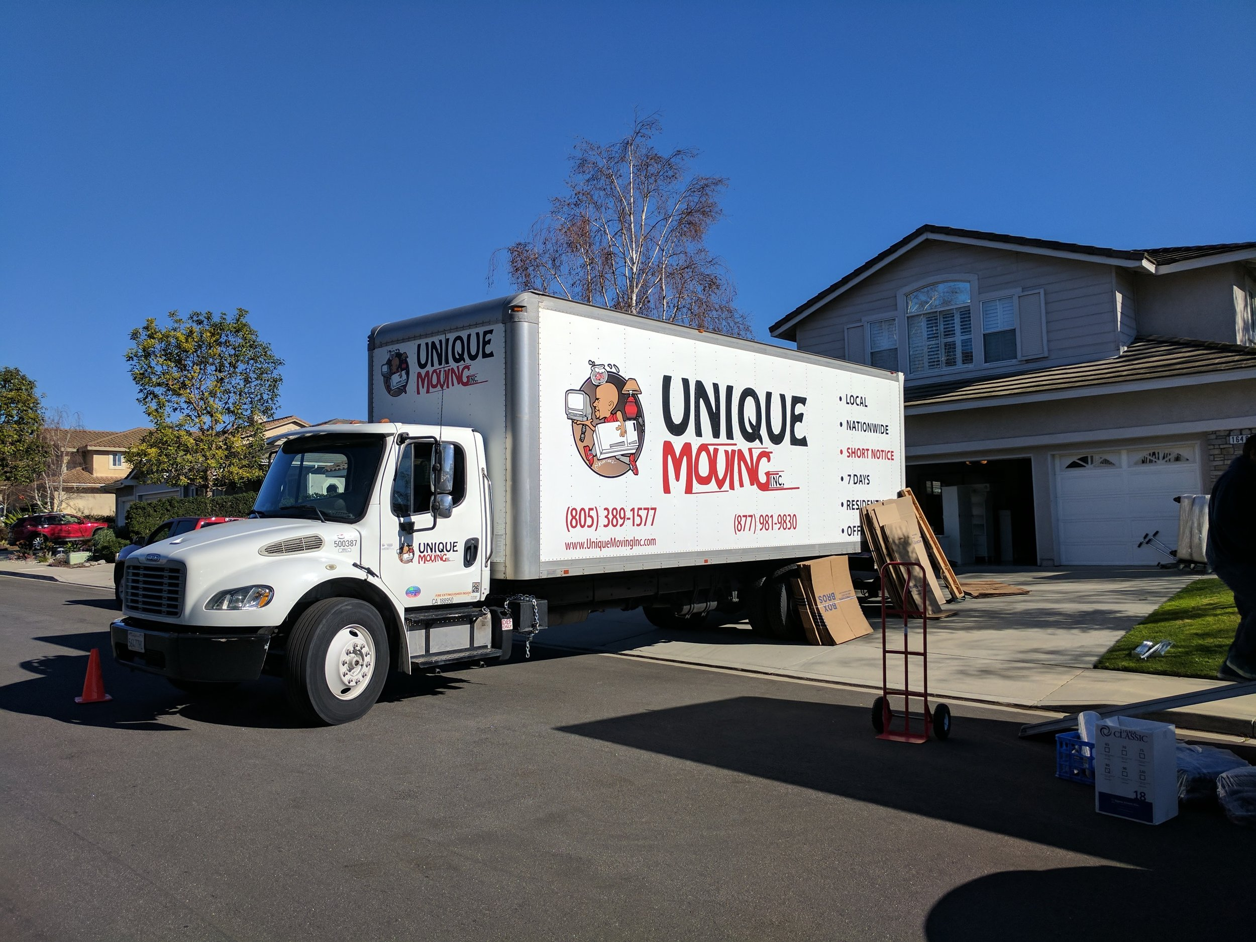 movers in camarillo | moving truck