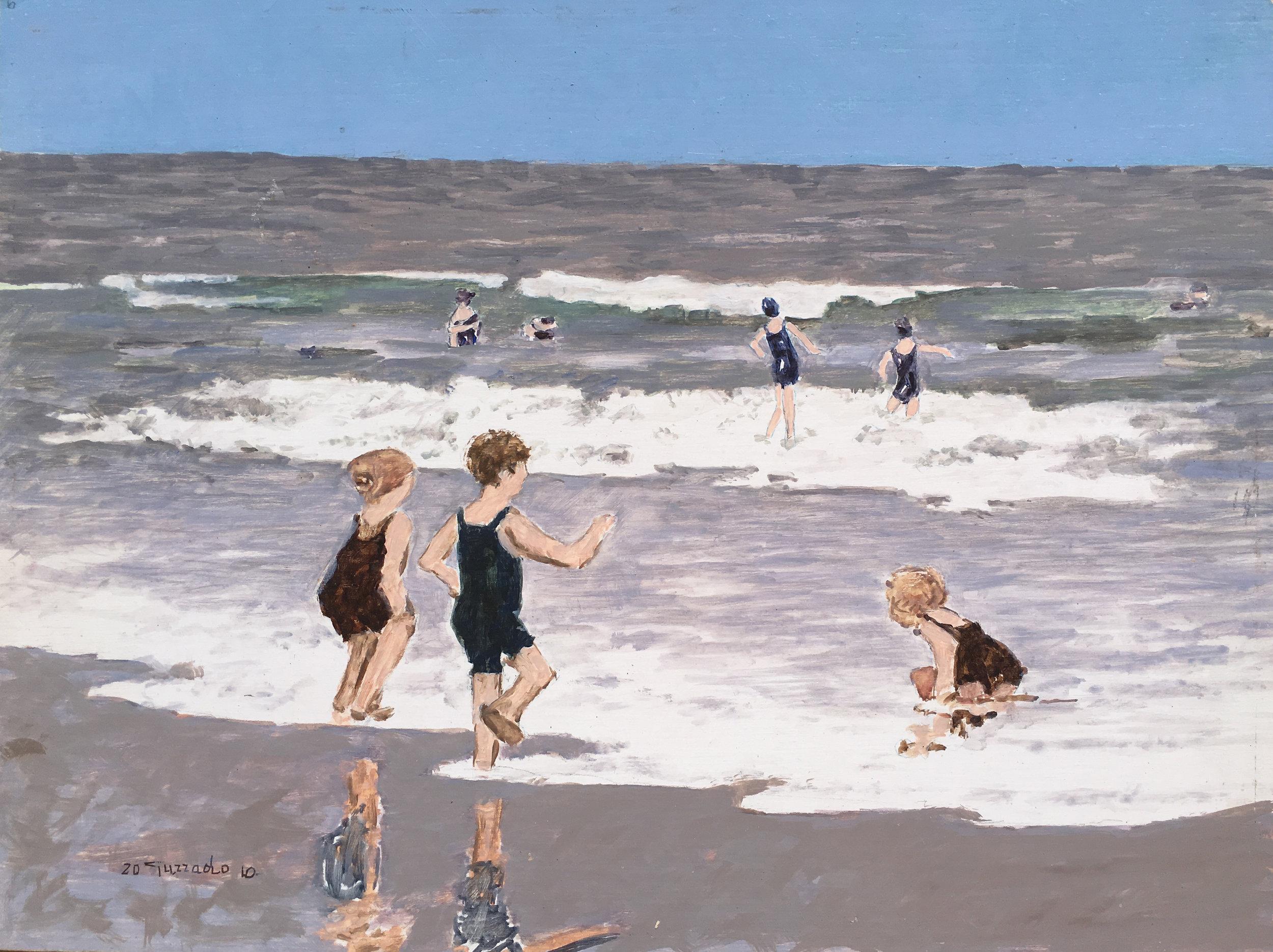 Bambini sulle onde