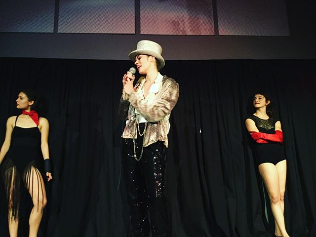 CABARET 🎩  I had a blast as the MC for this show! Respect to All Dancers!!! 📸 by @iamfiremist