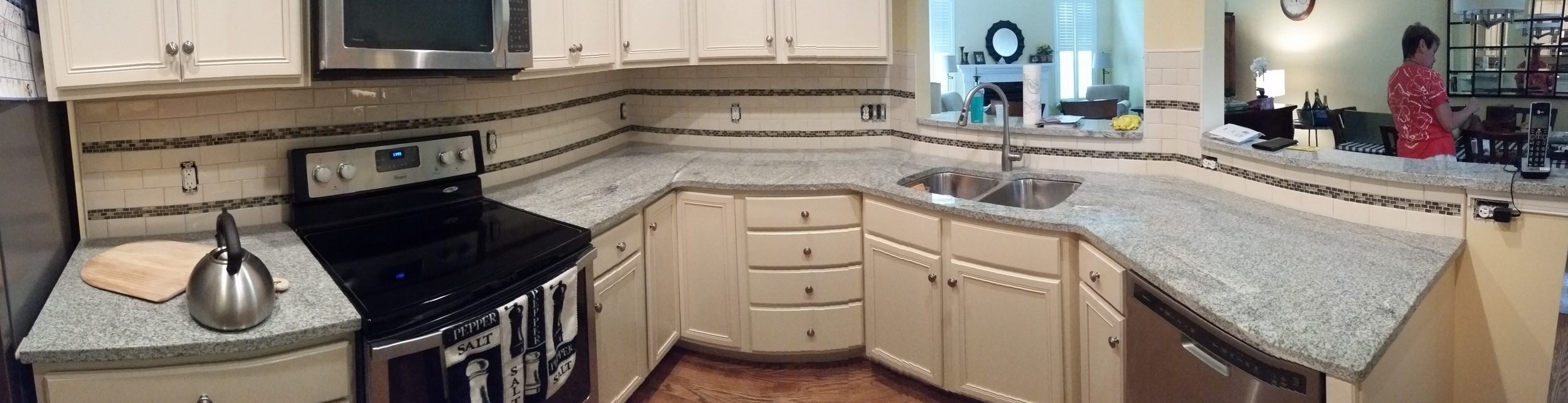 Panoramic Backsplash