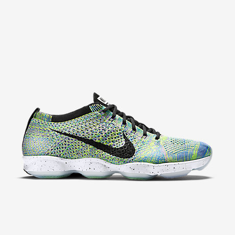 These lovely NIKE Flyknit Zoom Aglity 'Potion' can be bought here!