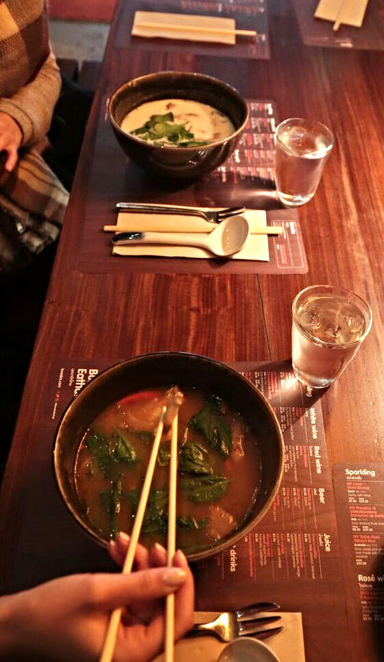 Nothing can beat a good Tom yam goong -YUM!