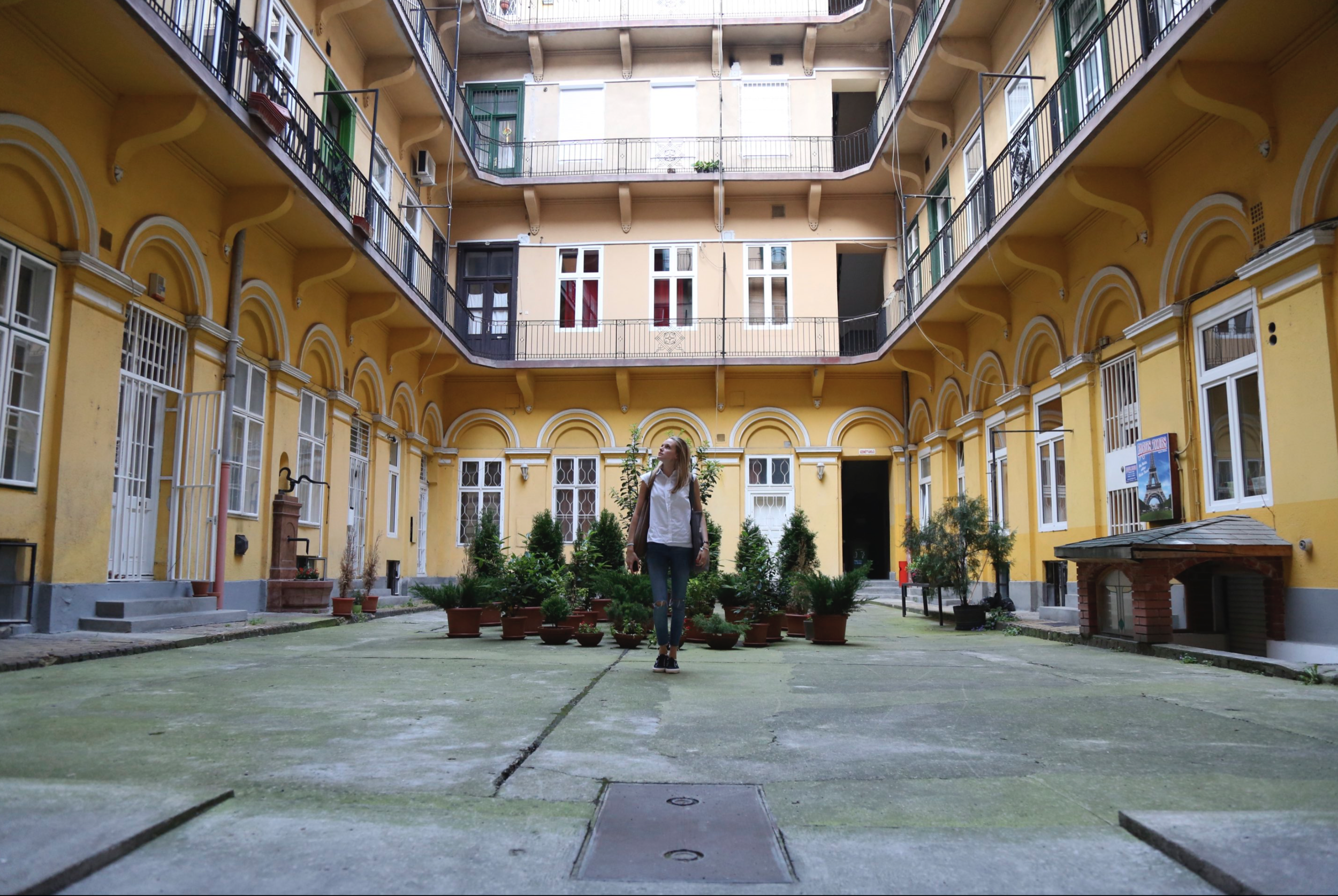 Some of these old courtyards have been turned into bars and worth checking out..