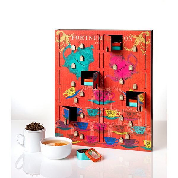 To warm up every morning with   Fortnum&Mason  .