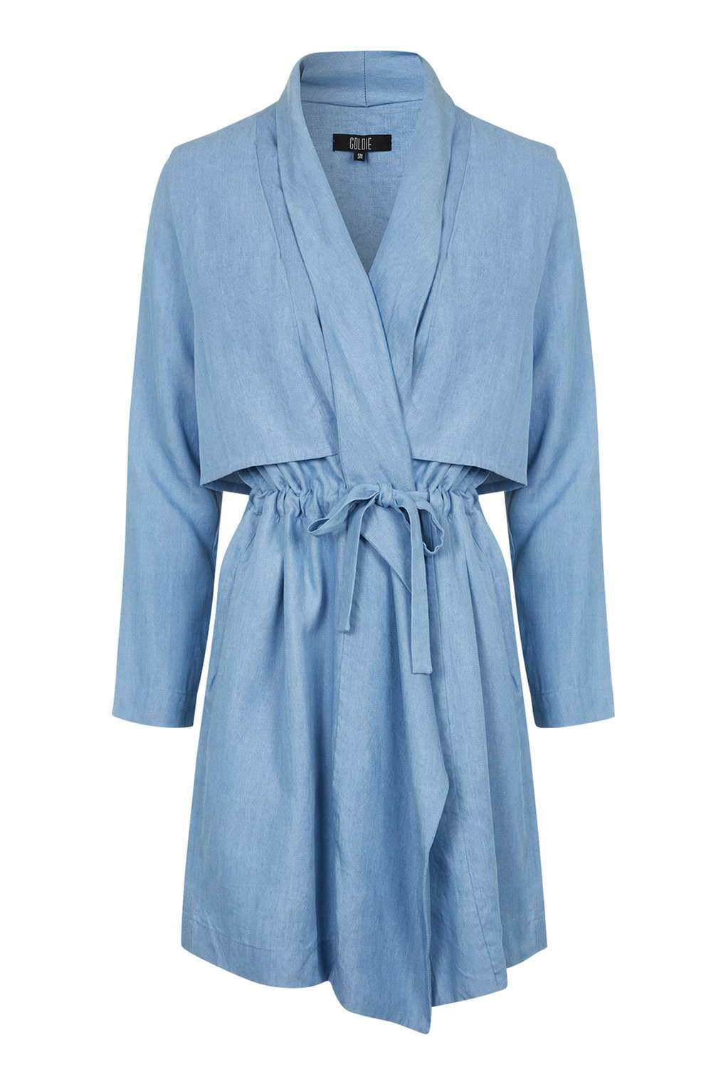 Denim Waterfall Coat by Goldie  Price: £69  Shop it   here