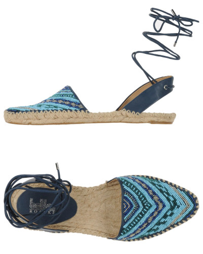 Find those gorgeous beaded Espadrilles   here   on SALE!