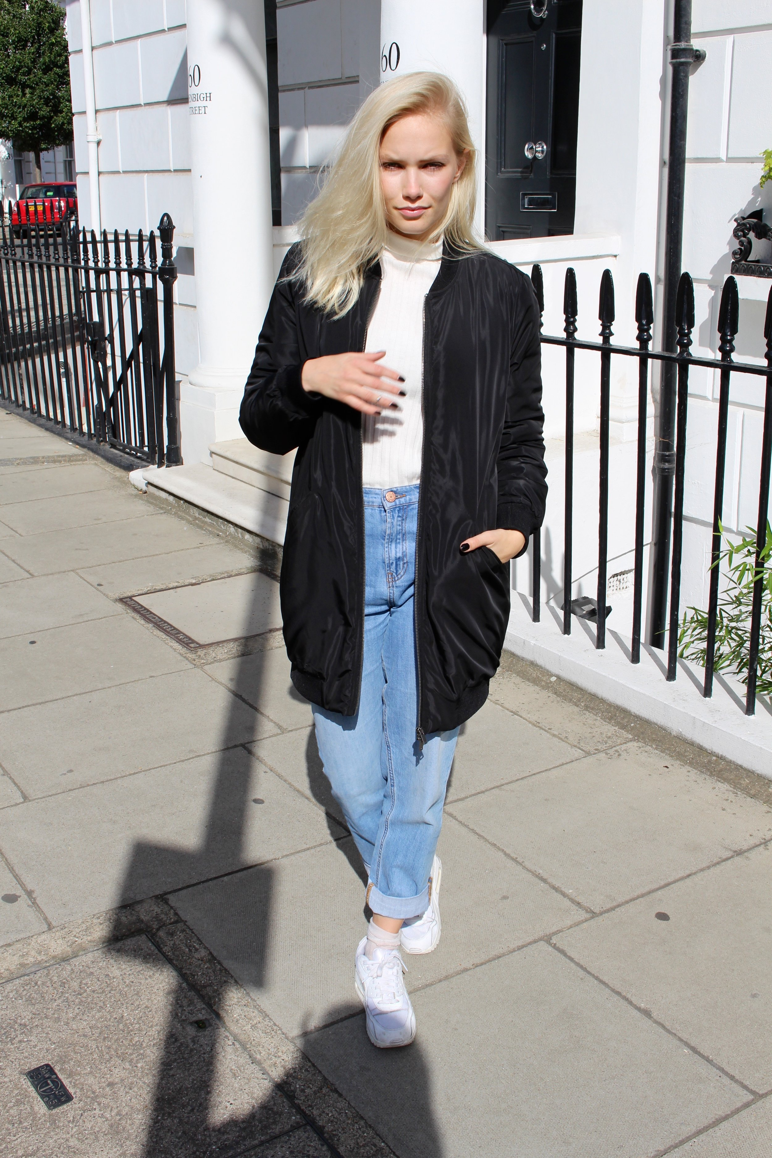 Jacket from   Object  and jeans from   Noisy May - Vero Moda