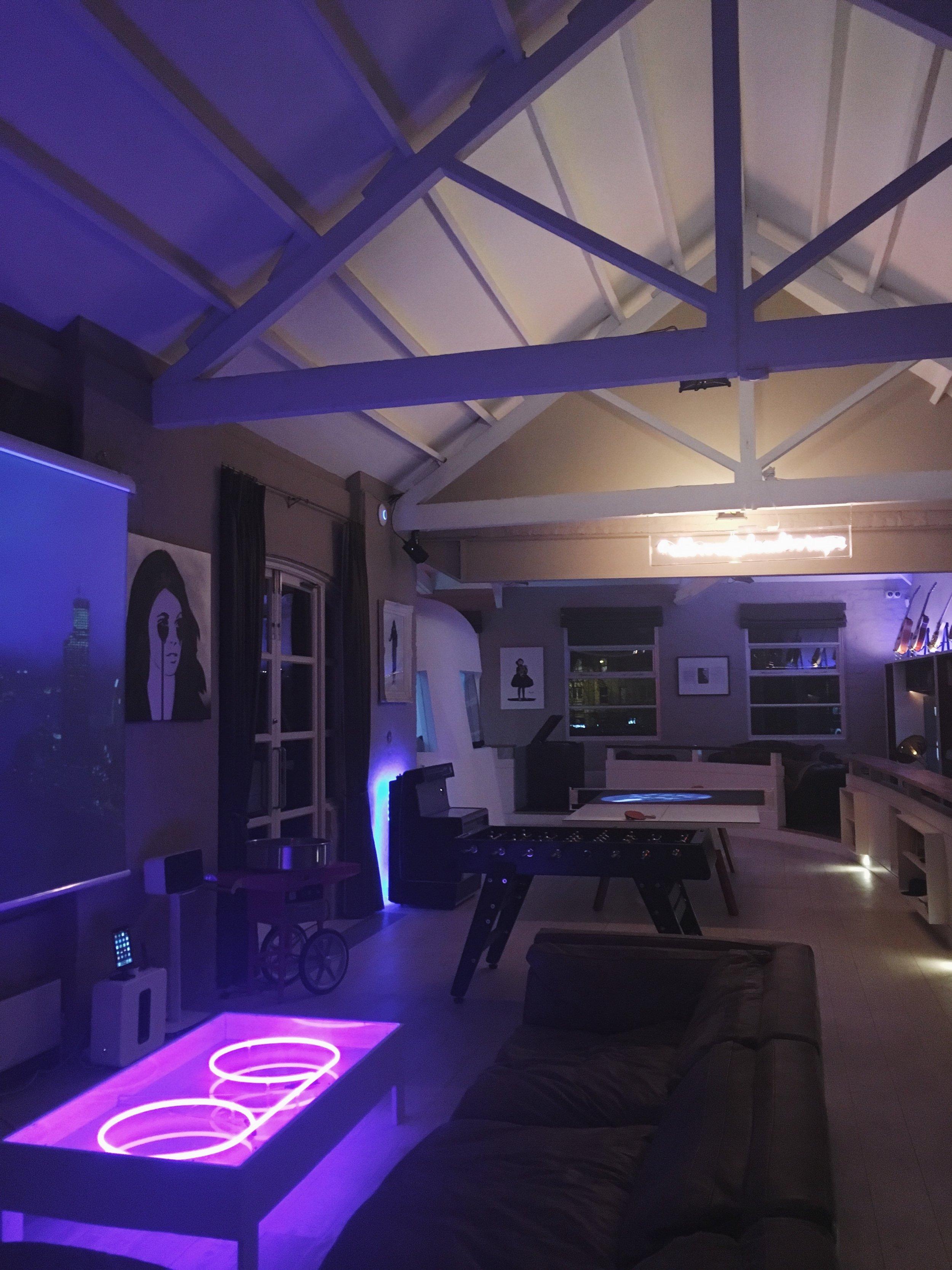 The upstairs @    Tape Lodge