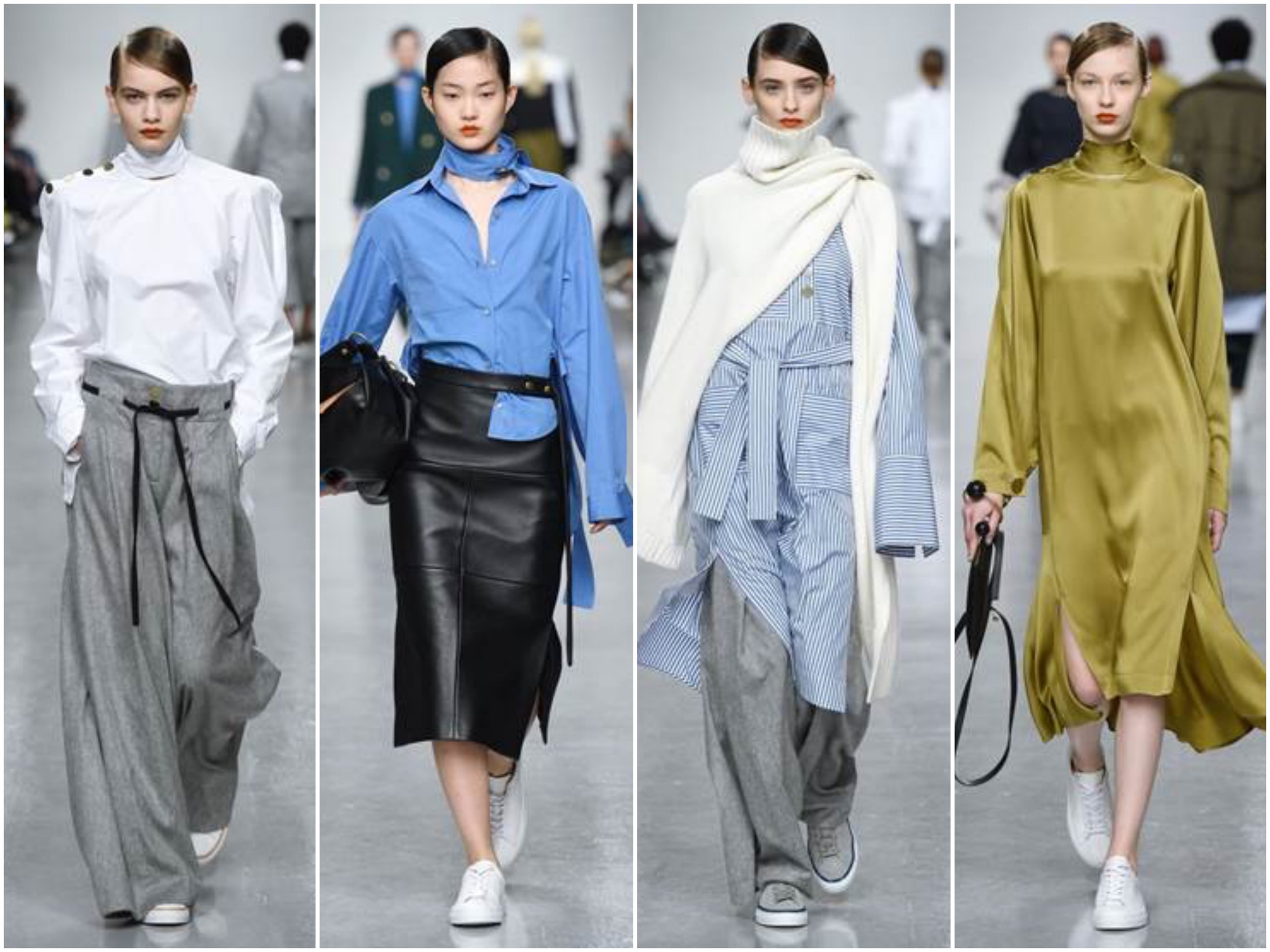 Eudon Choi AW17 from London fashion Week