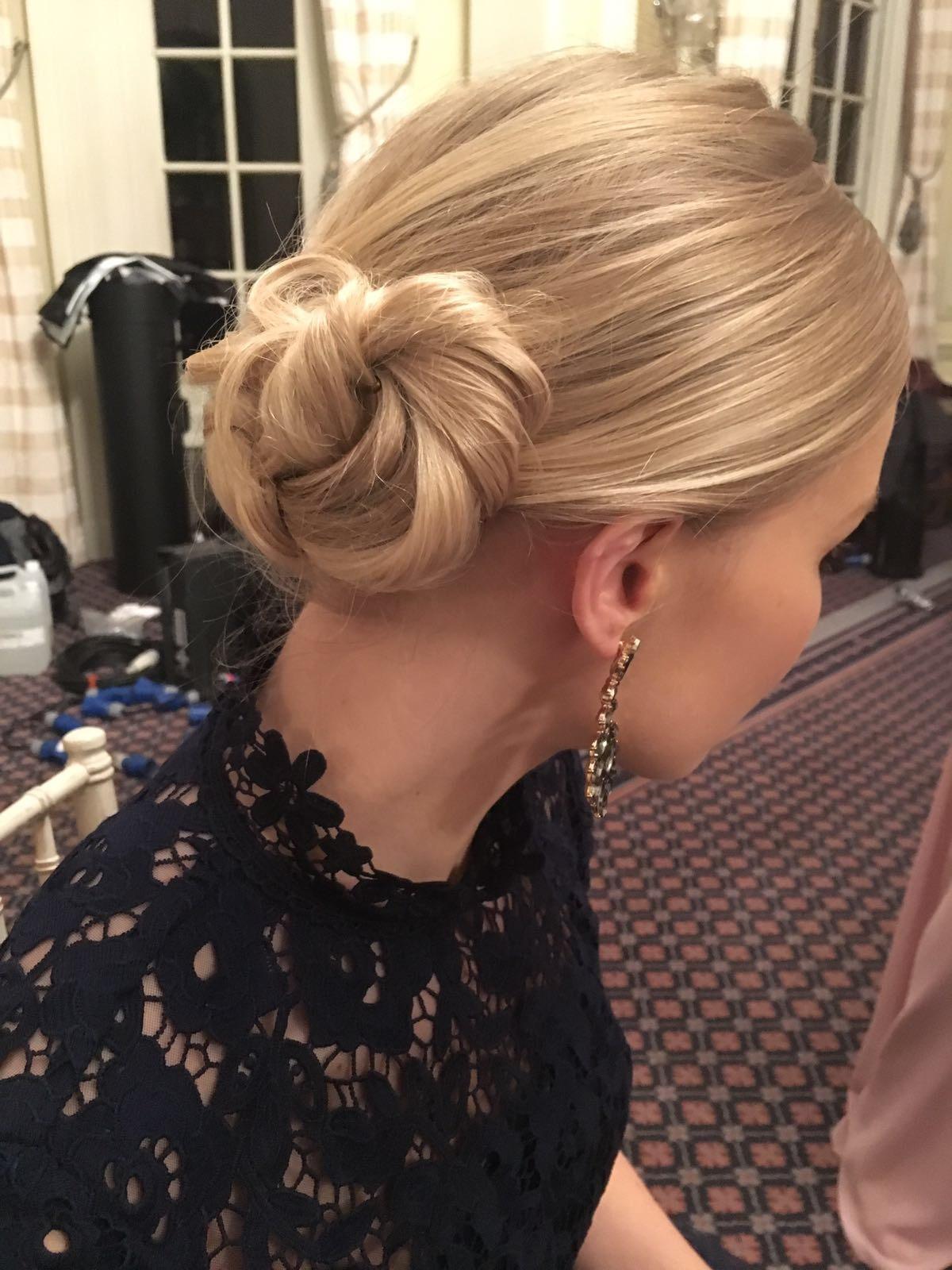 Very pretty hair creation for the last scene