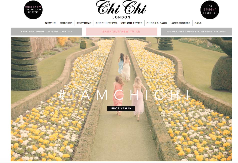 Chi Chi's website:  https://www.chichiclothing.com