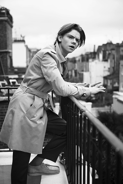 Thomas Brodie-Sangster  - Boys By Girls Magazine's most recent cover-boy. As a VERY big Game of Thrones fan, as well as having 'Love Actually' as my all time christmas favourite, I(Sara) think Thomas is an excellent choose for the magazines front cover.