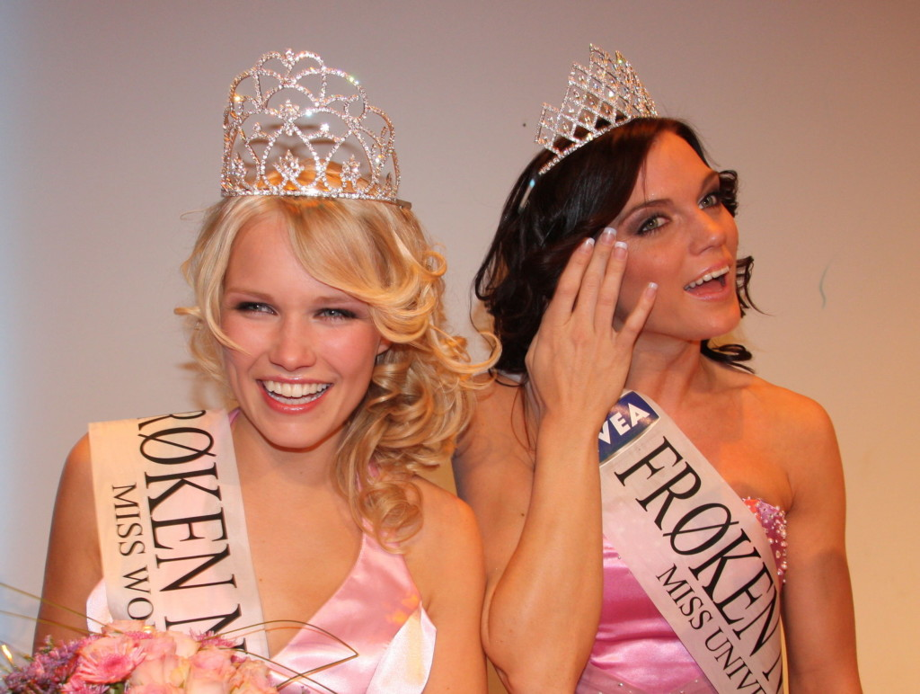 From the Miss Norway final