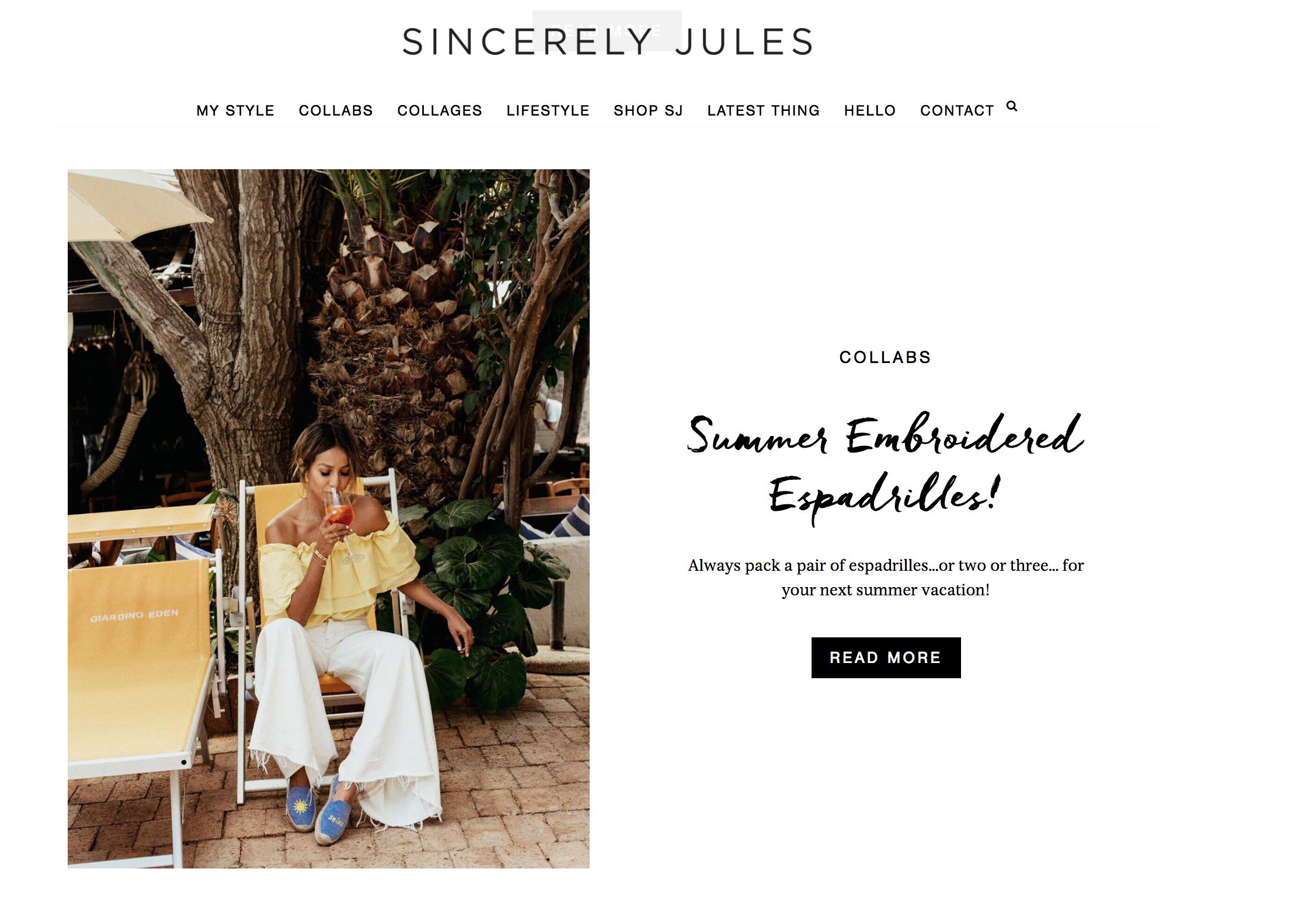 www.sincerelyjules.com