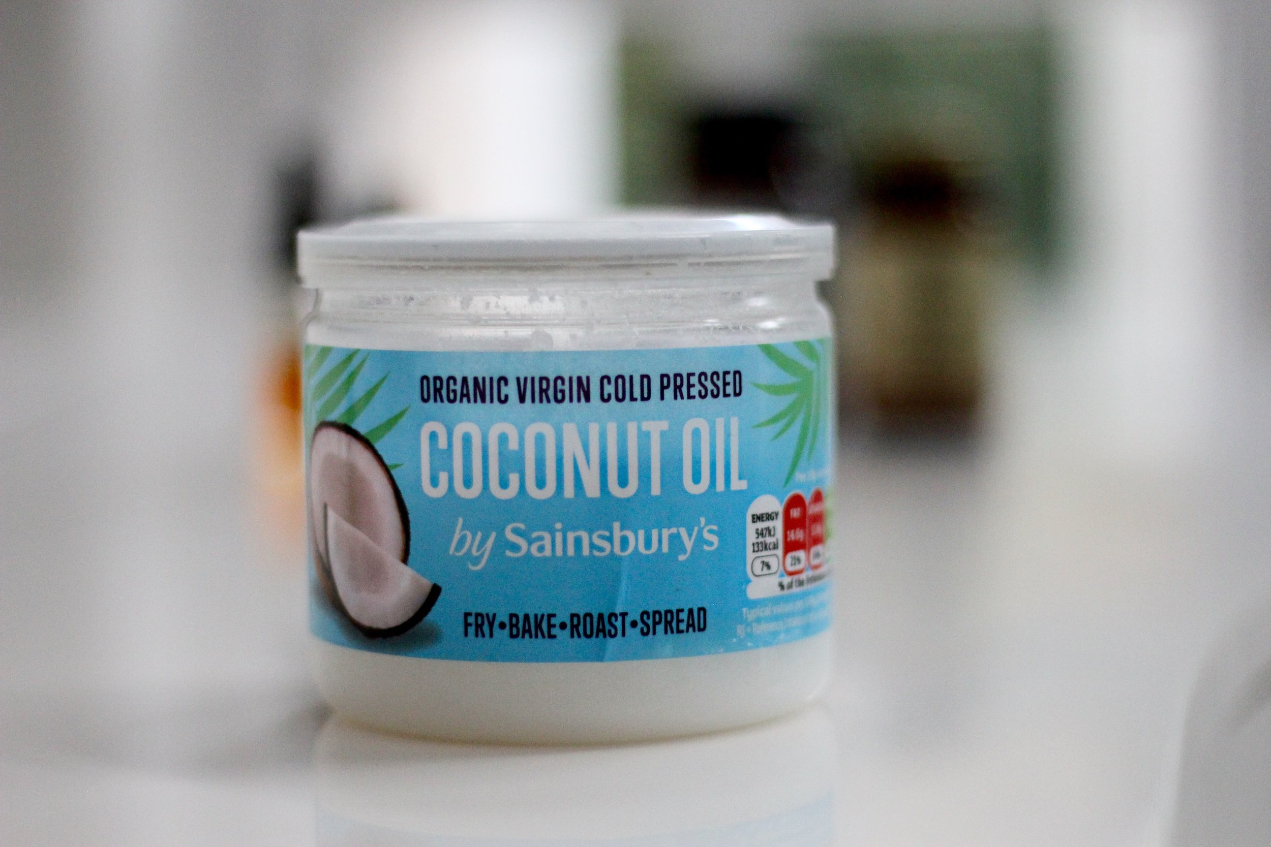 Coconut oil from Sainsbury's