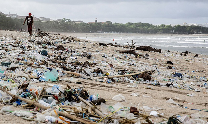Plastic waste destroying our nature!