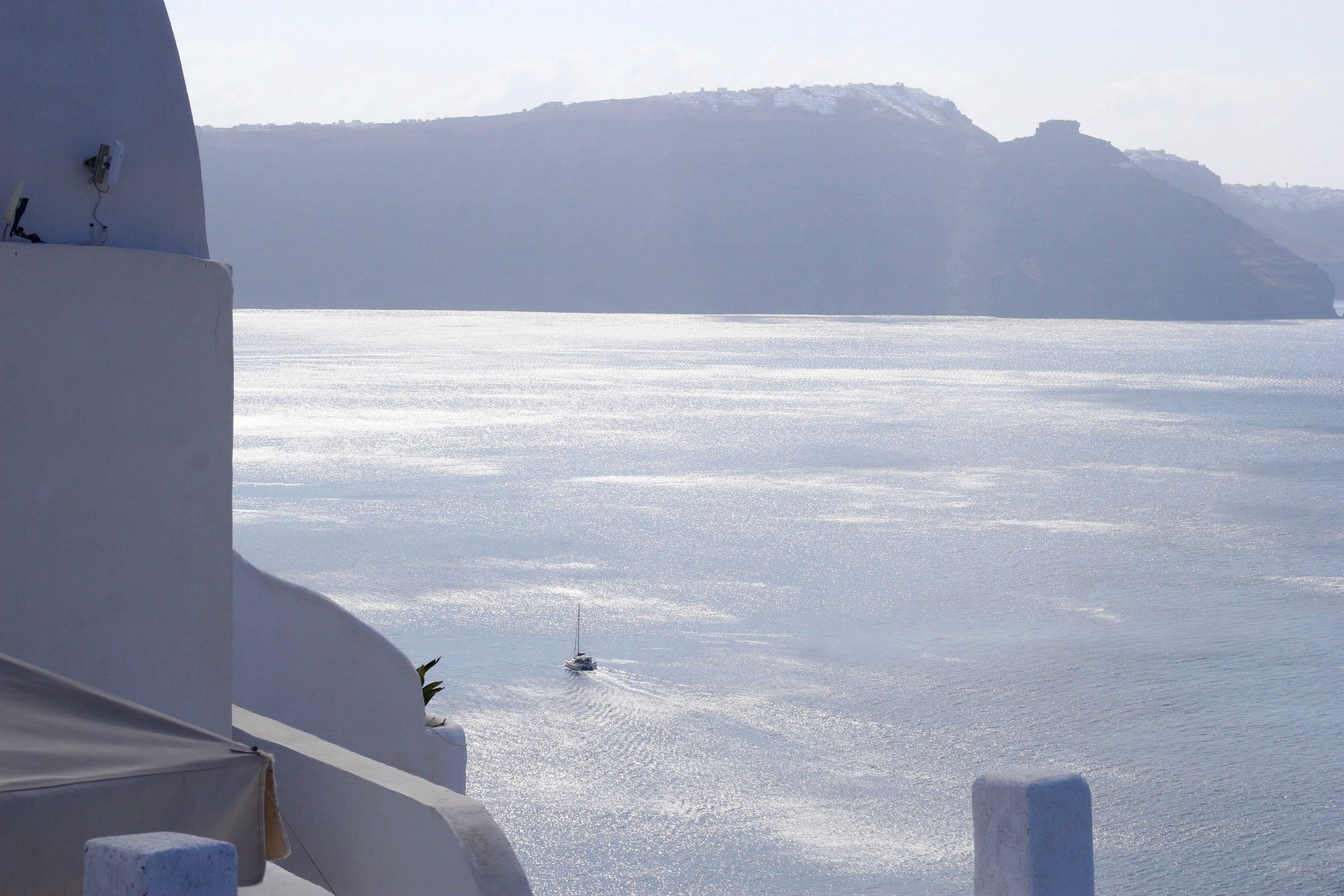 One of the many breathtaking views from Oia, Santorini