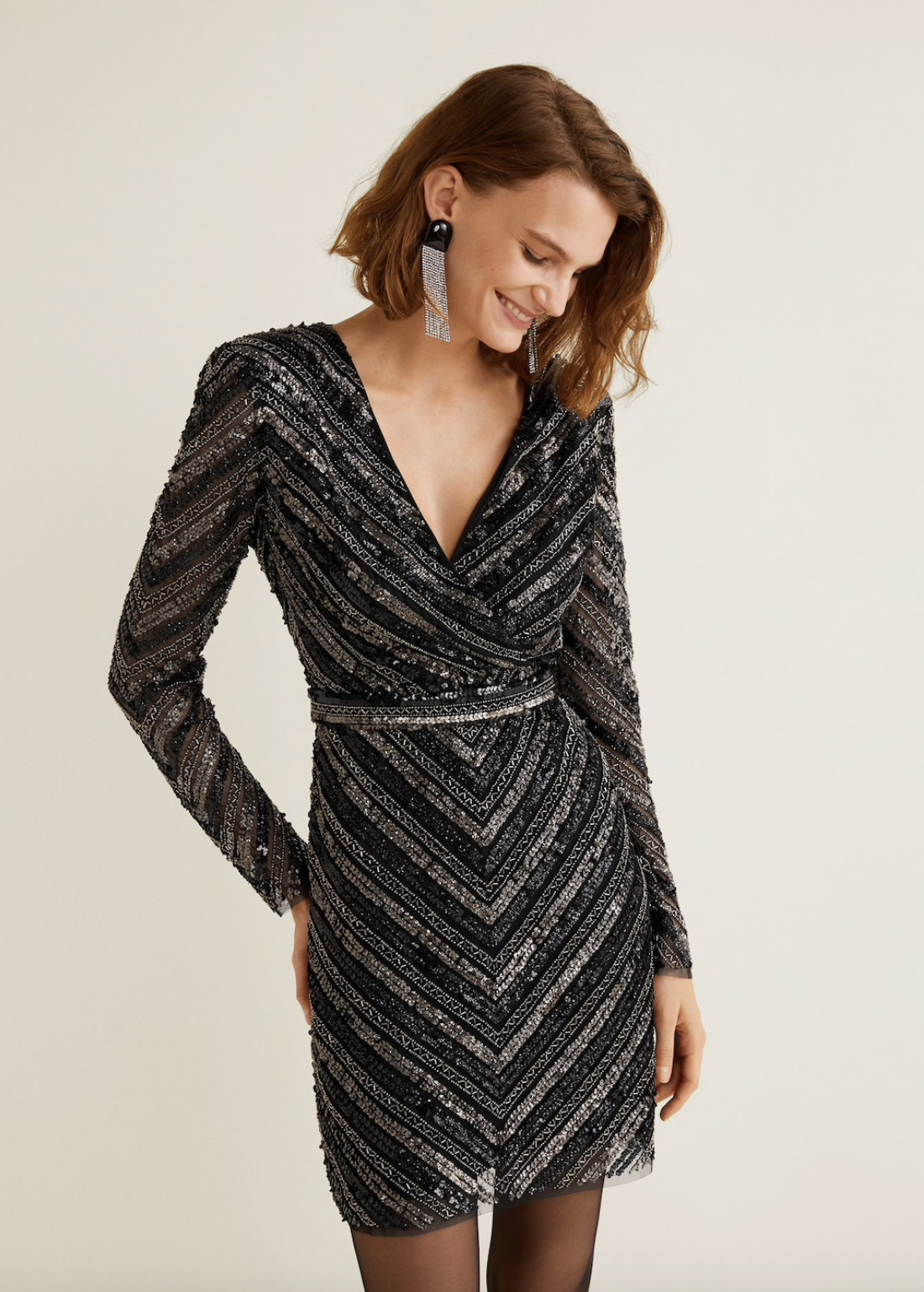 Embroidered Tulle Dress from Mango -  Shop here!