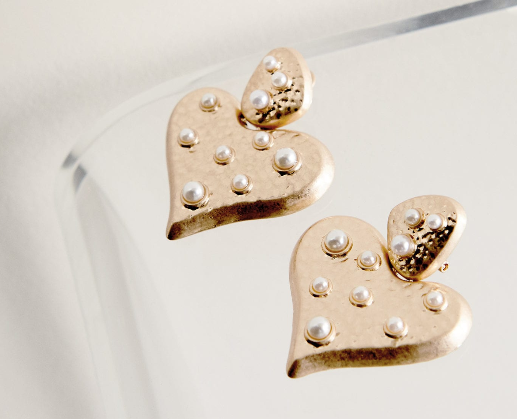 Cutest heart shaped earrings - get them here