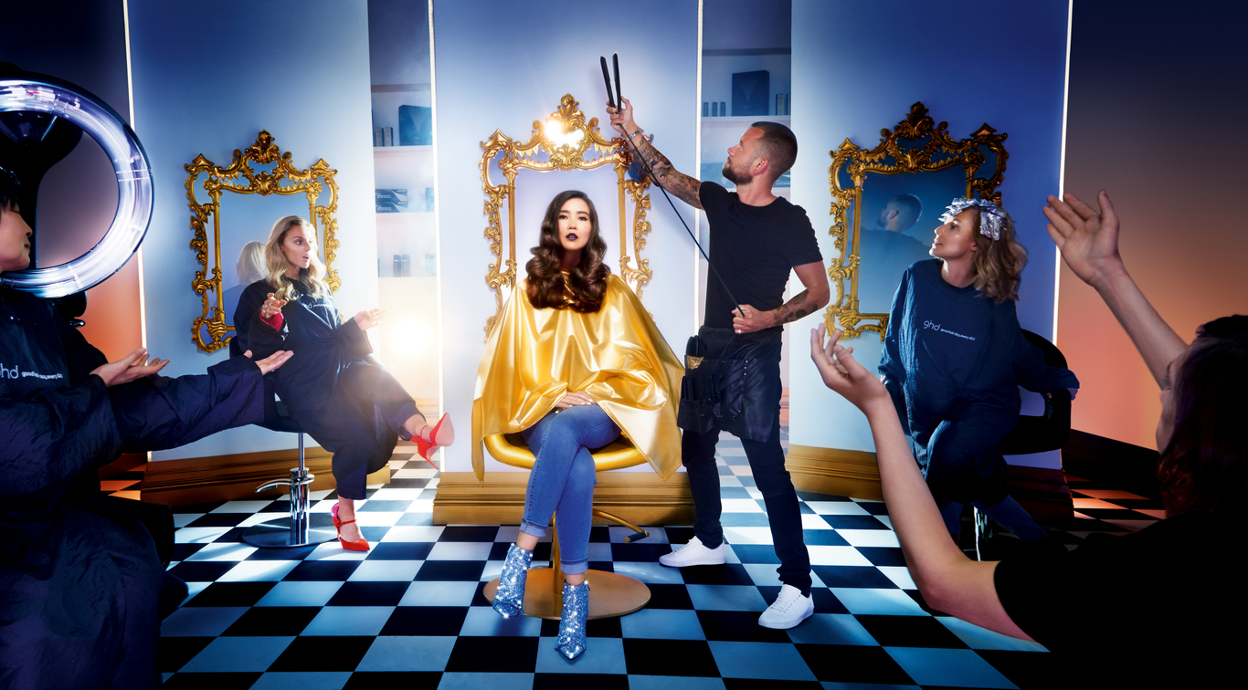 Guest blogger Jennifer Koch in new campaign for GHD - watch the full ad further down in the post.