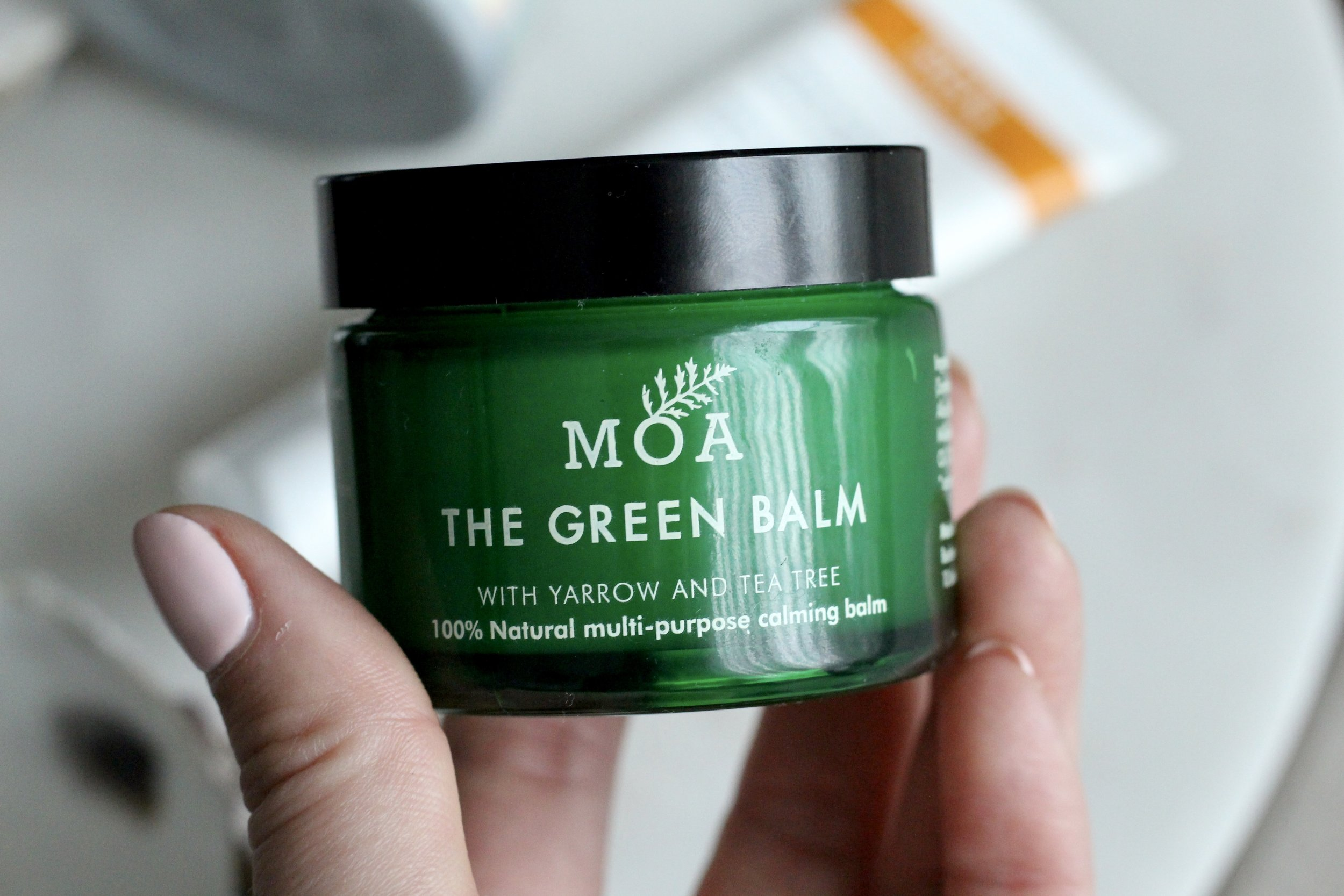 MAGIC ORGANIC APOTHECARY - THE GREEN BALM - 100% NATURAL MULTI-PURPOSE CALMING BALM
