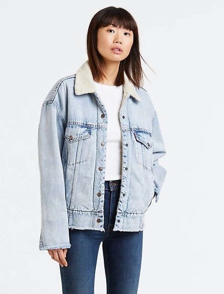 Oversized Sherpa Tucker Jacket from Levi's