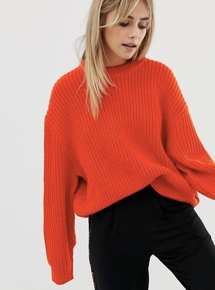 Weekday huge knit jumper