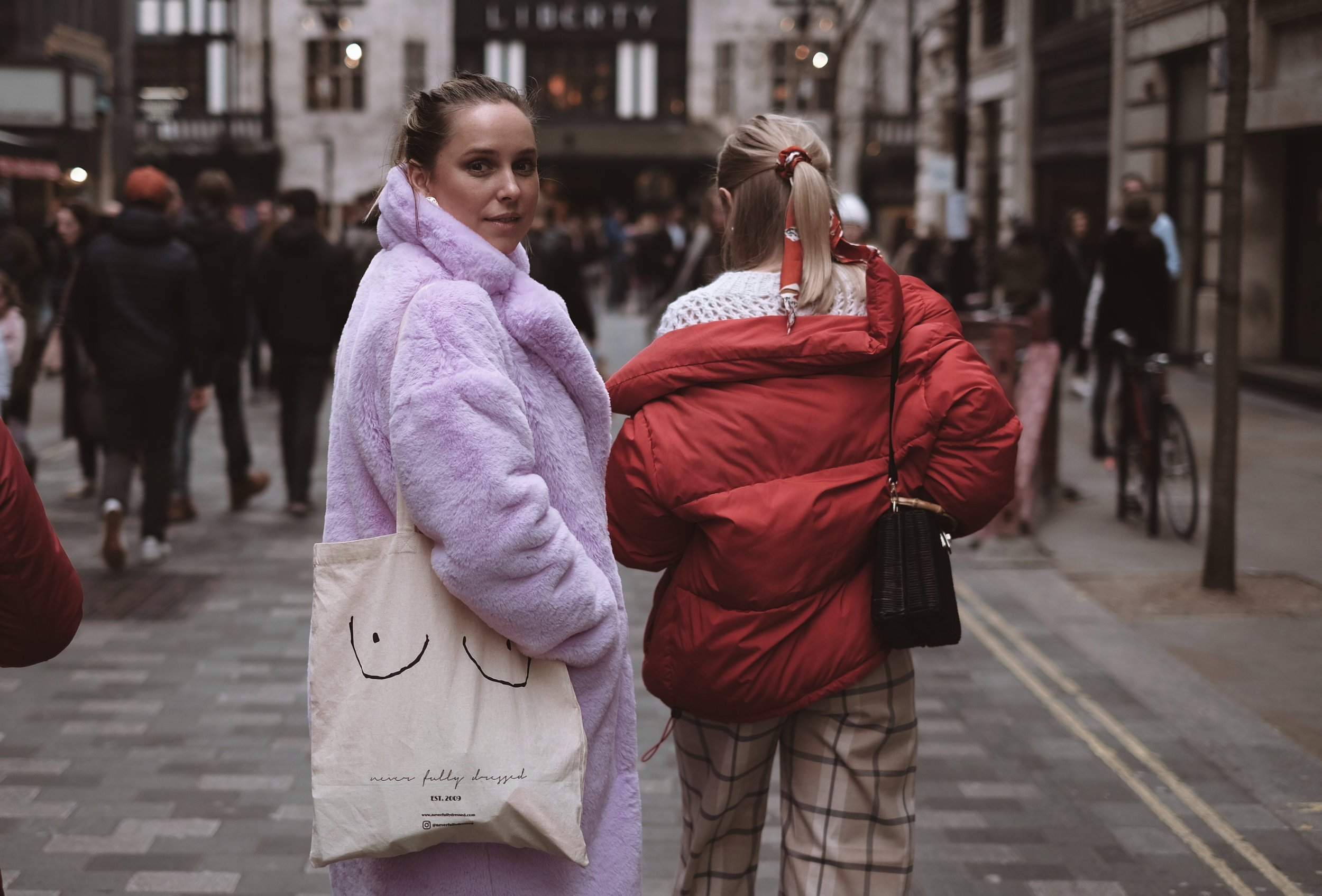 THE 4 OF US - London Fashion week, street style