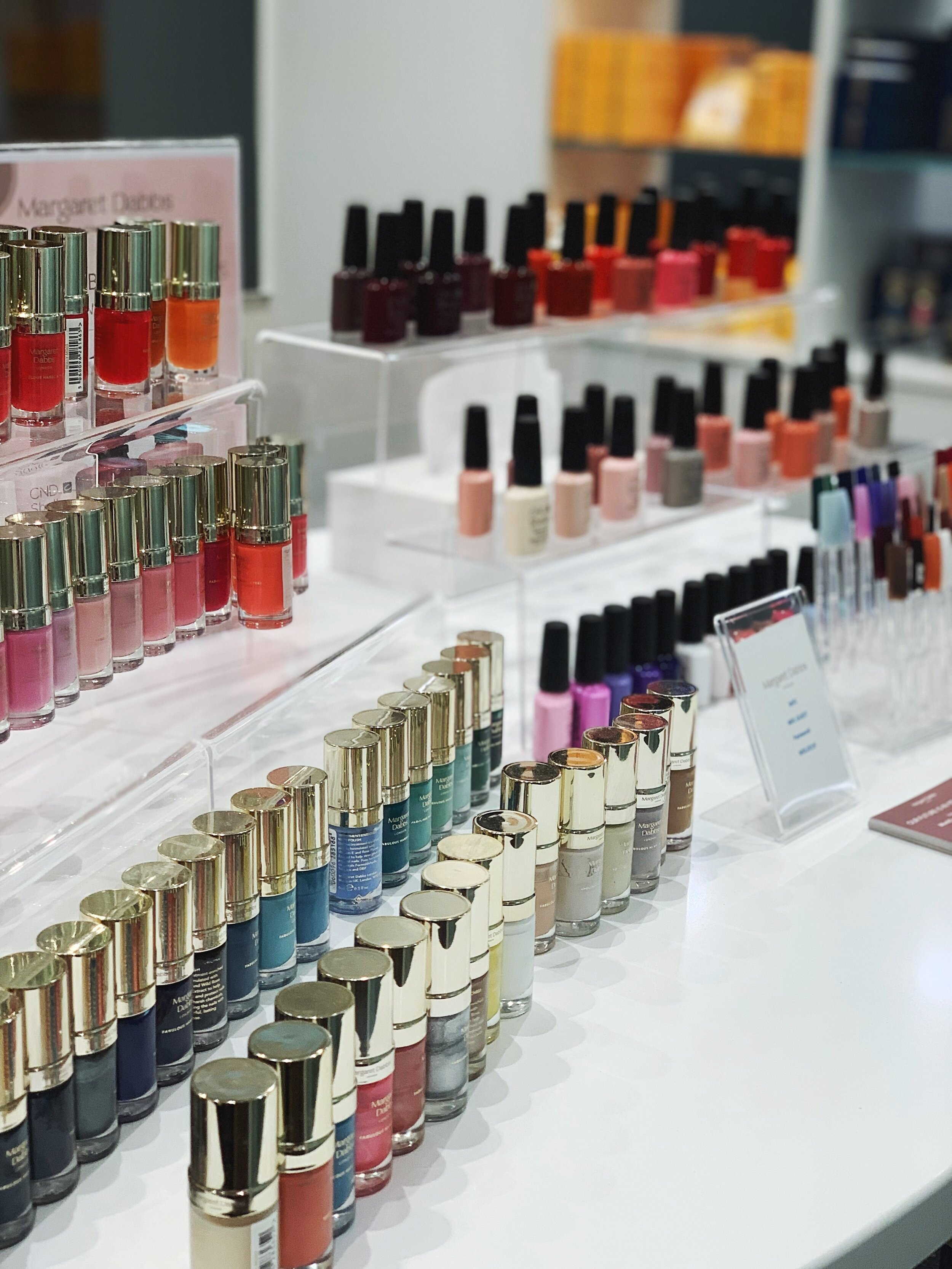 DECISIONS DECISIONS - Choose from a wide range of beautiful nail polish shades