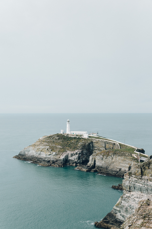 Haarkon Lighthouse South Stack RSPB Anglesey Sea Coastal