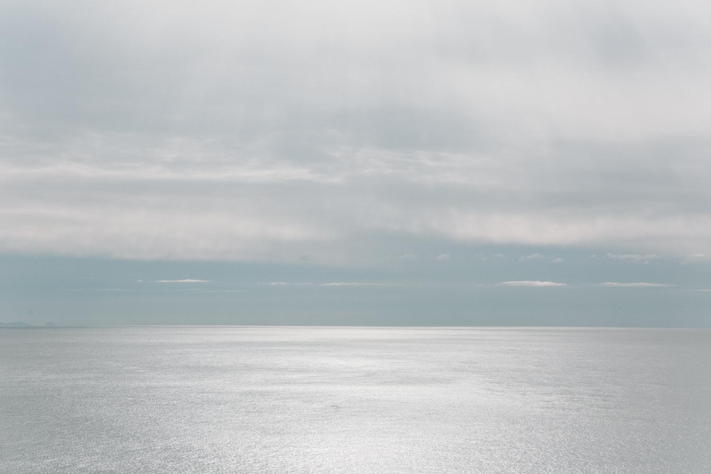 Haarkon Sea Seascape Coastal Horizon Light Anglesey