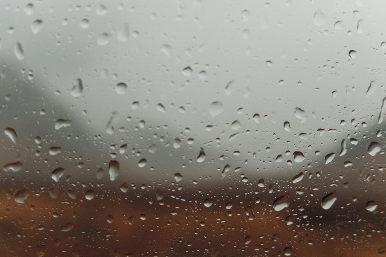 Haarkon Rain Window Weather Water Wet Scotland Travel