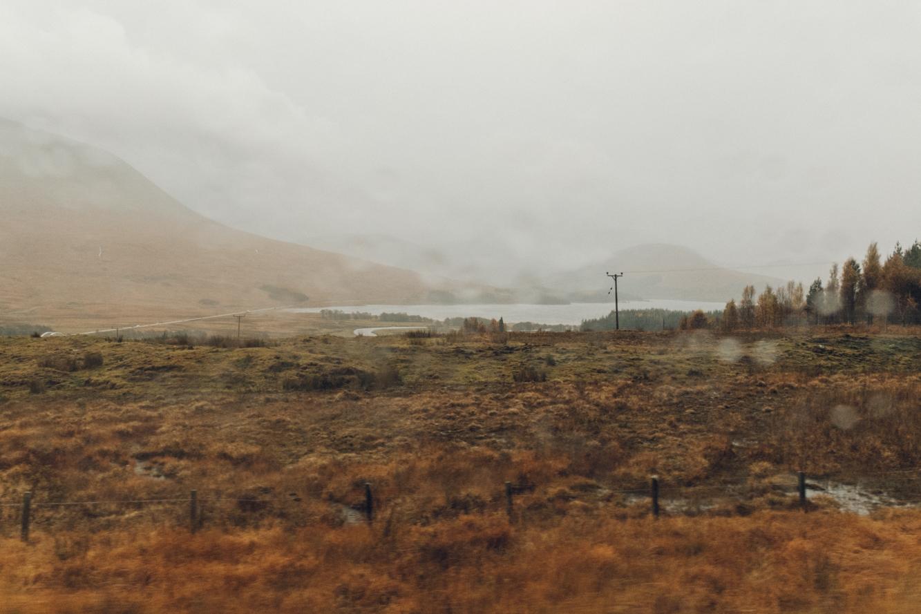 Haarkon Rain Weather Scotland Autumn Travel